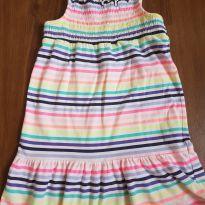 Vestido listradinho - 3 anos - Carter`s