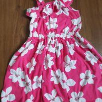vestido flores - 4 anos - Carter`s