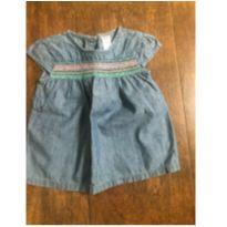 Blusinha Jeans Carters - 9 a 12 meses - Carter`s