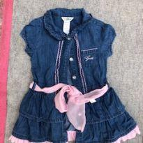 Vestido Jeans Guess - 18 meses - Guess