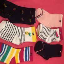 kit 6 meias infantis tommy hilfiger - 12 a 18 meses - Tommy Hilfiger