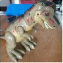 Dinossauro rex tudo funcionando -  - Outros