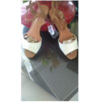 Sandália  Bottero em couro - sandália n 35 NOVA - 35 - BOTTERO