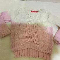 Blusa de lã rosa - 4 anos - Poim, Cherokee e Up Baby