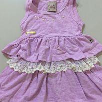 Vestido lilás - 24 a 36 meses - Kiki Xodó
