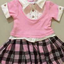 Vestido colegial - 1 ano - Nannete Girl