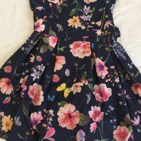 Vestido florido momy - 4 anos - momy