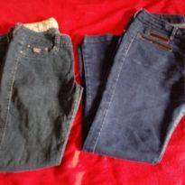Dupla jeans feminina - M - 40 - 42 - Sem marca