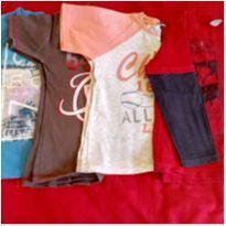Kit menino camisetas - 5 anos - Sem marca