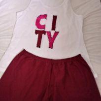 Pijama feminino - M - 40 - 42 - Sem marca