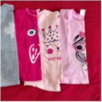 Blusinhas manga longa - 4 anos - Sem marca