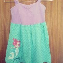 Vestido ariel - 4 anos - Disney