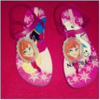 Sandália infantil Frozen - 29 - ipanema