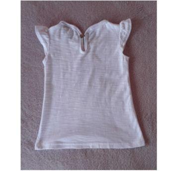 Camiseta cheia de charme branca - 1 ano - Malwee