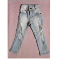 Calça jeans infantil D` Luke - 1 ano - Sem marca