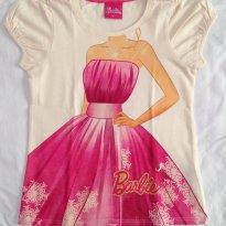 Blusa Barbie tam 6 - 6 anos - C&A