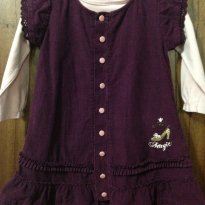 Vestido com blusa manga longa Marisol tam 16 a 20 meses - 18 meses - Marisol