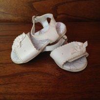Sandália branca Marisol Baby tam 17 - 17 - Marisol