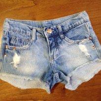 Short jeans Monster High tam 6 - 6 anos - C&A