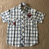 Camisa xadrez Planet Kids tam 1 - 1 ano - Planet Kids