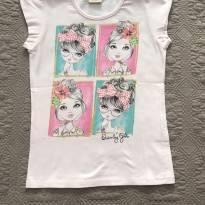 Blusa rosa Quimby tam 8 - 8 anos - Quimby