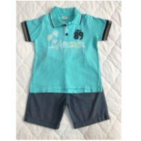 Conjunto de polo e bermuda Have Fun tam 2 - 2 anos - Have Fun