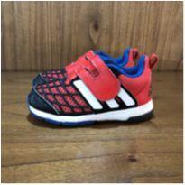 Tênis Homem Aranha Adidas tam 22 - 22 - Adidas