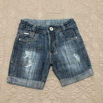 Bermuda jeans Crawling  tam 1 - 1 ano - Crawling