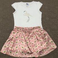 Conjunto flamingo Pulla Bulla tam 8