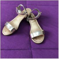 Sandália bronze Molekinha tam 31 - 31 - Molekinha