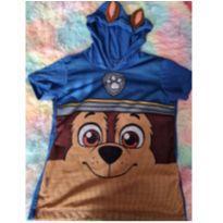 Camiseta Azul Nicklodeon Patrulha Canina Tamanho 6 - 6 anos - nickelodeon