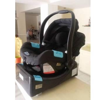 Bebê conforto com base veicular - Sem faixa etaria - Burigotto