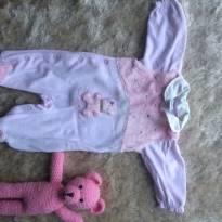 Macacão Ursinho fofinho - Recém Nascido - NUK e Sonho Mágico