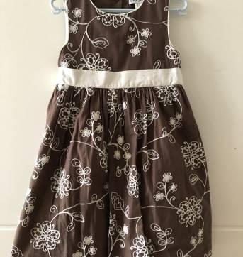 Vestido feminino infantil - 4 anos - Lady Rock