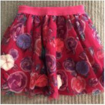 saia importada feminina com tule e flores - 4 anos - Carters - Sem etiqueta