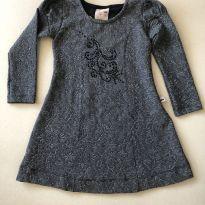 Vestido feminino infantil - 4 anos - Kiki Xodó