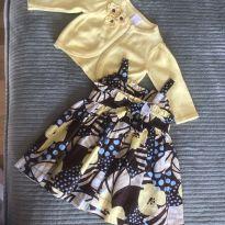 vestido com cardigã baby fofo - 3 meses - Gymboree