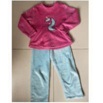 Pijama de unicórnio - 8 anos - Marca não registrada