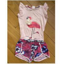 Conjunto flamingo - 8 anos - Não informada