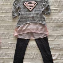 Conjunto Super Girl - 6 anos - Walmart