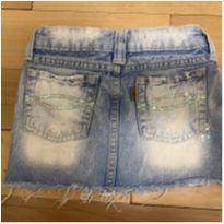 Saia jeans rasgadinha - 6 anos - Get Baby