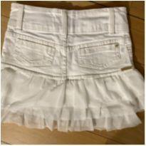 Saia jeans pituchinhos - 6 anos - Pituchinhus