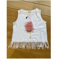 Blusa de flamingo Zara - 6 anos - Zara