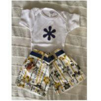 Trio Baby body - 6 a 9 meses - Não informada