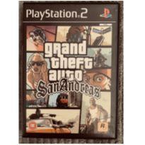 Jogo PS2 GTA SAN Andreas -  - PlayStation