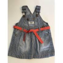 Jardineira / Vestido Jeans OshKosh - 9 meses - OshKosh