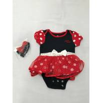 Body da Minnie - Disney baby - 3 meses - Disney baby