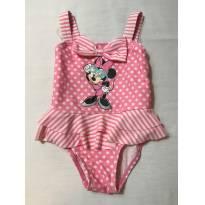 Maio da Minnie Rosa - 18 meses - Disney
