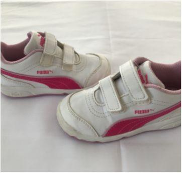 Tenis Puma Branco/Pink - 25 - Puma