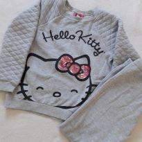 Conjunto de moletom - 6 anos - Hello Kitty by Sanrio